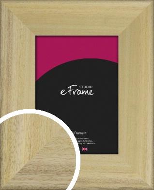 Prime Unfinished Natural Wood Picture Frame (VRMP-1300)