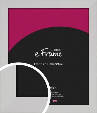 Bright White Picture Frame, 10x12