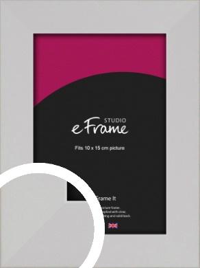 Bright White Picture Frame, 10x15cm (4x6