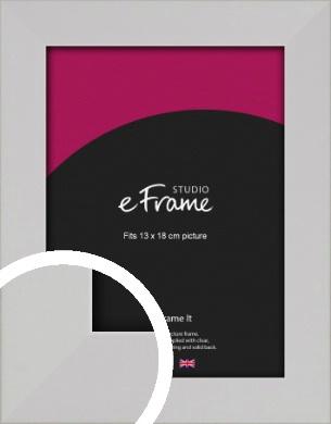 Bright White Picture Frame, 13x18cm (5x7