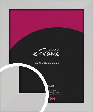 Bright White Picture Frame, 20x25cm (8x10