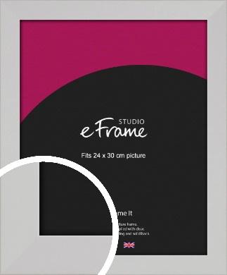 Bright White Picture Frame, 24x30cm (VRMP-1305-24x30cm)