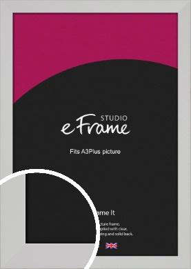 Bright White Picture Frame, A3Plus (VRMP-1305-329x483mm)