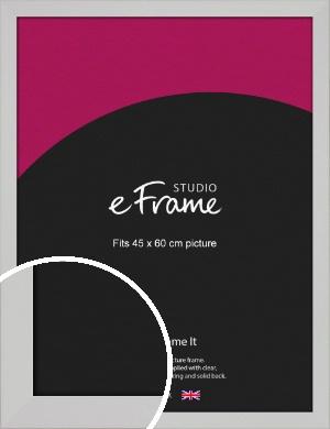 Bright White Picture Frame, 45x60cm (VRMP-1305-45x60cm)
