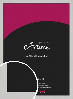 Bright White Picture Frame, 50x70cm (VRMP-1305-50x70cm)