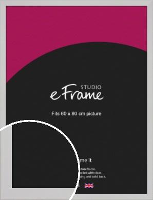 Bright White Picture Frame, 60x80cm (VRMP-1305-60x80cm)