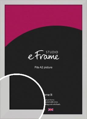 Bright White Picture Frame, A2 (420x594mm) (VRMP-1305-A2)