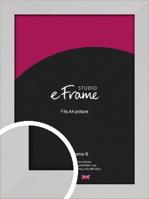 Bright White Picture Frame, A4 (210x297mm) (VRMP-1305-A4)