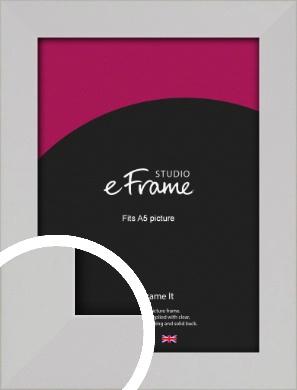 Bright White Picture Frame, A5 (148x210mm) (VRMP-1305-A5)