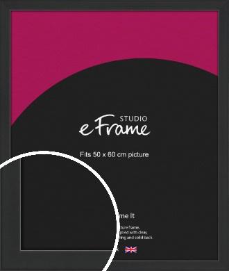 Contemporary Off Black Picture Frame, 50x60cm (VRMP-1306-50x60cm)