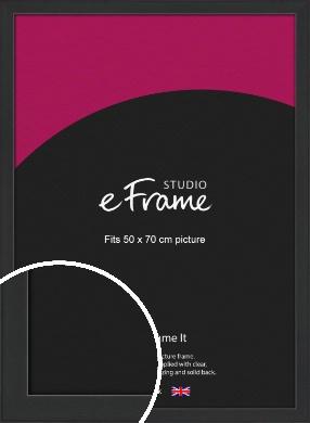 Contemporary Off Black Picture Frame, 50x70cm (VRMP-1306-50x70cm)