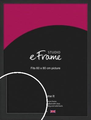 Contemporary Off Black Picture Frame, 60x80cm (VRMP-1306-60x80cm)