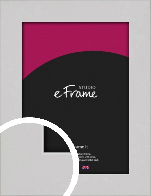 Flat Gallery White Picture Frame (VRMP-1307)