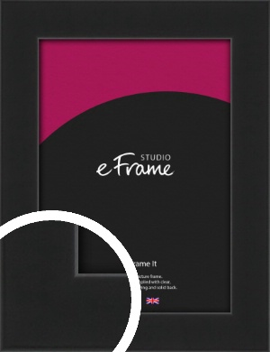 Iconic Gallery Black Picture Frame (VRMP-1308)