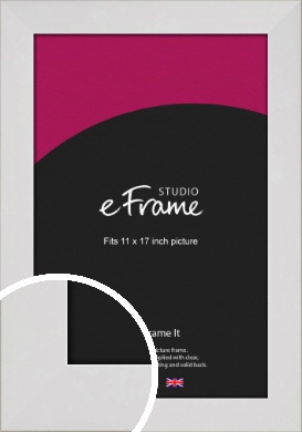 Simply White Picture Frame, 11x17