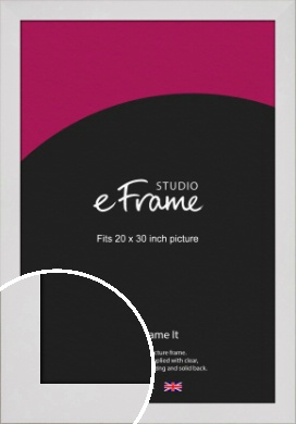 Simply White Picture Frame, 20x30