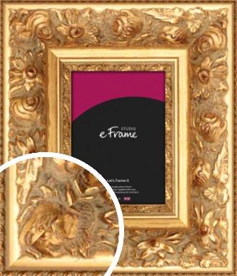 Embellished Gold Picture Frame (VRMP-529)