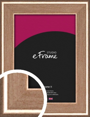 Foiled Rose Silver Picture Frame (VRMP-665)