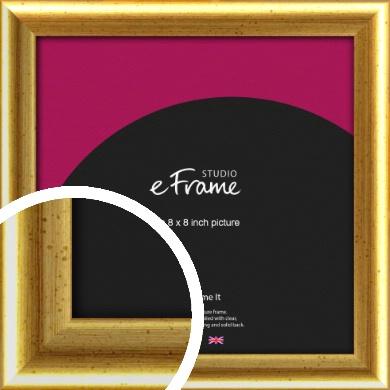 Radius Edge Old Gold Picture Frame, 8x8