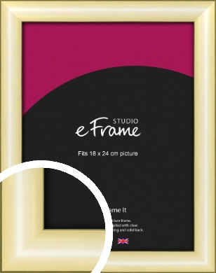 Eye Catching Gold Picture Frame, 18x24cm (VRMP-A017-18x24cm)