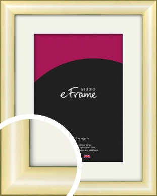 Eye Catching Gold Picture Frame & Mount (VRMP-A017-M)