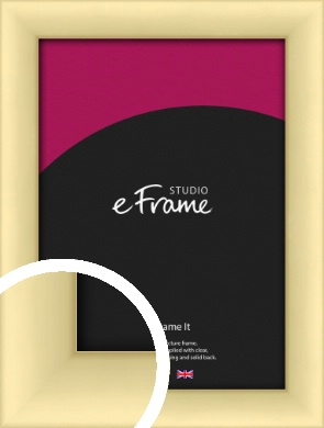 Frosted Gold Picture Frame (VRMP-A018)