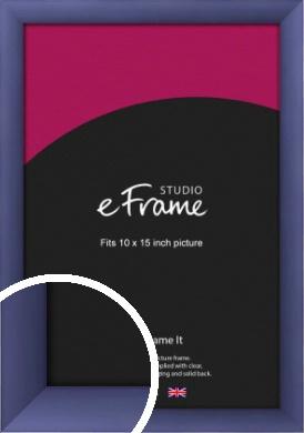 Modern Purple Picture Frame, 10x15