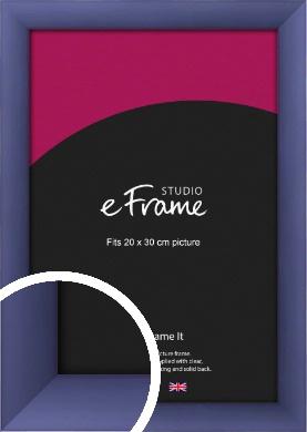 Modern Purple Picture Frame, 20x30cm (8x12