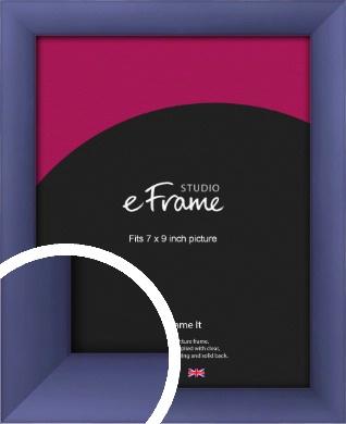 Modern Purple Picture Frame, 7x9