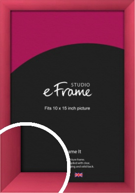 Scarlet Red Picture Frame, 10x15