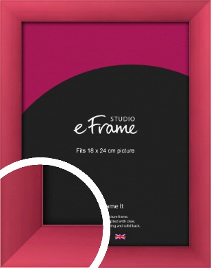 Scarlet Red Picture Frame, 18x24cm (VRMP-A026-18x24cm)