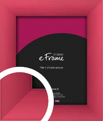 Scarlet Red Picture Frame, 4x5