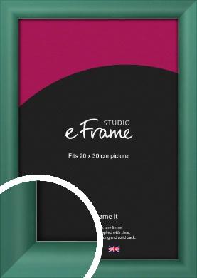 Modern Green Picture Frame, 20x30cm (8x12