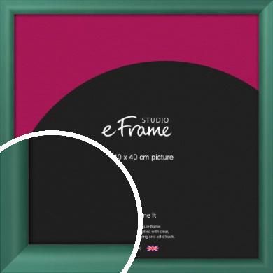Modern Green Picture Frame, 40x40cm (VRMP-A027-40x40cm)