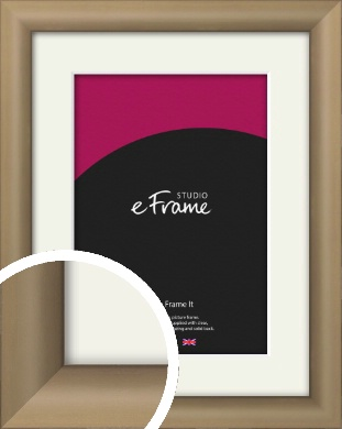 Chic Bronze / Copper Picture Frame & Mount (VRMP-A028-M)