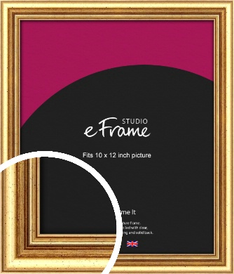 Strong Gold Picture Frame, 10x12