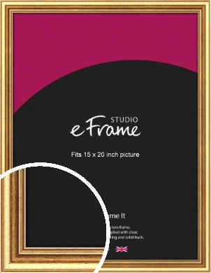 Strong Gold Picture Frame, 15x20