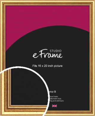 Strong Gold Picture Frame, 16x20