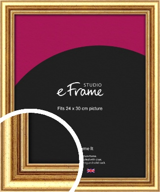 Strong Gold Picture Frame, 24x30cm (VRMP-210-24x30cm)