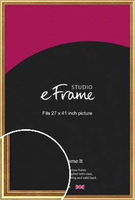 Strong Gold Picture Frame, 27x41