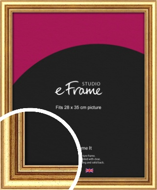 Strong Gold Picture Frame, 28x35cm (VRMP-210-28x35cm)