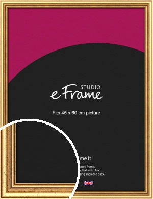 Strong Gold Picture Frame, 45x60cm (VRMP-210-45x60cm)