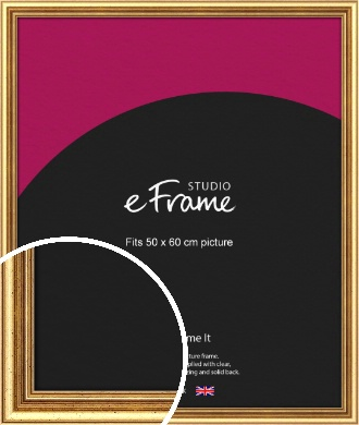 Strong Gold Picture Frame, 50x60cm (VRMP-210-50x60cm)