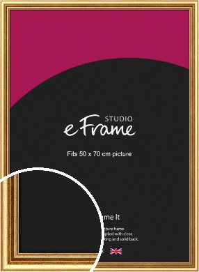 Strong Gold Picture Frame, 50x70cm (VRMP-210-50x70cm)