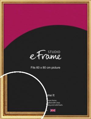 Strong Gold Picture Frame, 60x80cm (VRMP-210-60x80cm)