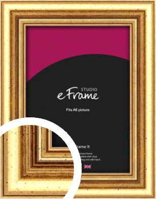 Strong Gold Picture Frame, A6 (105x148mm) (VRMP-210-A6)