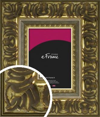Bold & Decorative Gold Picture Frame (VRMP-1327)