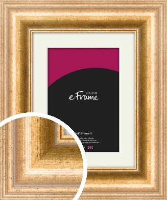 Standout Gold Picture Frame & Mount (VRMP-452-M)