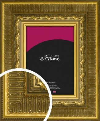 Alluring Gold Picture Frame (VRMP-1329)