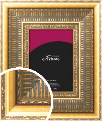 Highly Detailed Gold Picture Frame (VRMP-508)